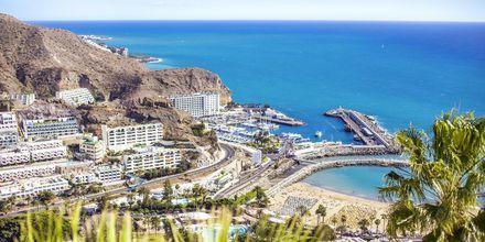 Vackra vyer i Puerto Rico på Gran Canaria.