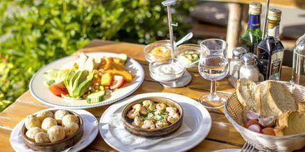 Papas arrugadas är en specialitet från Kanarieöarna.