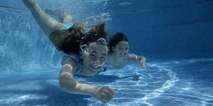 Barnpool på Gran Hotel Atlantis Bahia Real i Corralejo, Fuerteventura.