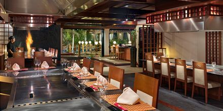 Restaurang Yamatori på Gran Hotel Atlantis Bahia Real i Corralejo, Fuerteventura.