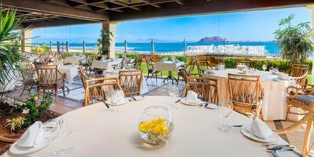 Las Palmeras Beach Club på Gran Hotel Atlantis Bahia Real i Corralejo, Fuerteventura.