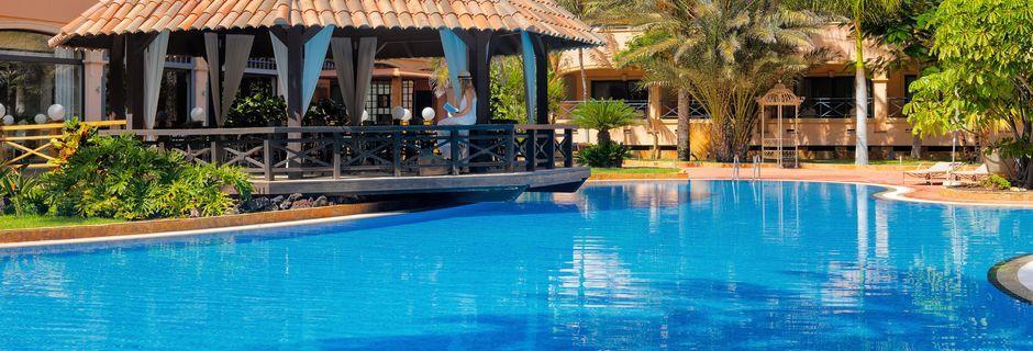 Poolområdet på Gran Hotel Atlantis Bahia Real i Corralejo, Fuerteventura.