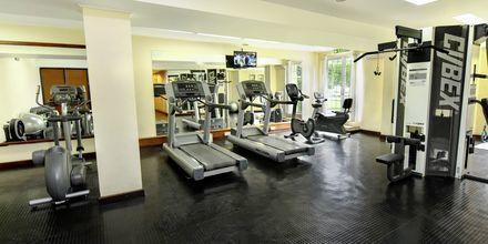 Gymmet på hotell Grand Hotel i Nuwara Eliya på Sri Lanka.