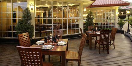 Indisk restaurang på hotell Grand Hotel i Nuwara Eliya på Sri Lanka.