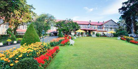 Grand Hotel i Nuwara Eliya på Sri Lanka.