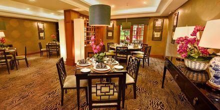 Thairestaurangen på hotell Grand Hotel i Nuwara Eliya på Sri Lanka.