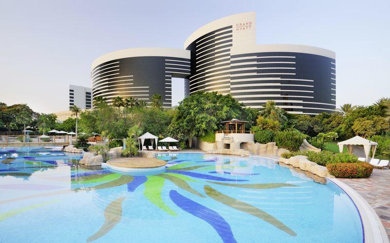 Hotell Grand Hyatt i Dubai.