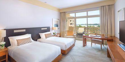 Deluxerum på hotell Grand Hyatt i Doha, Qatar.