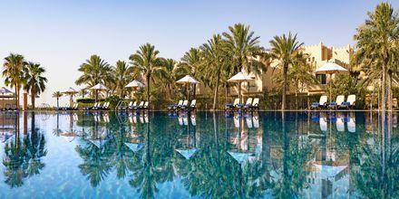 Pool på hotell Grand Hyatt i Doha, Qatar.