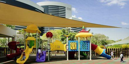 Barnklubb på hotell Grand Hyatt, Dubai.