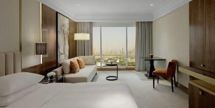 Dubbelrum på hotell Grand Hyatt, Dubai.
