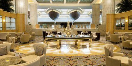 Lounge på hotell Grand Hyatt, Dubai.