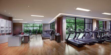 Gym på hotell Grand Hyatt, Dubai.