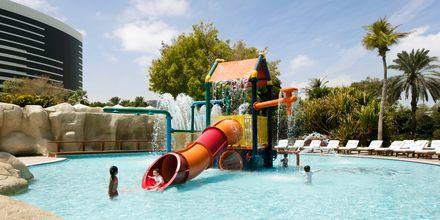 Barnpool på hotell Grand Hyatt, Dubai.