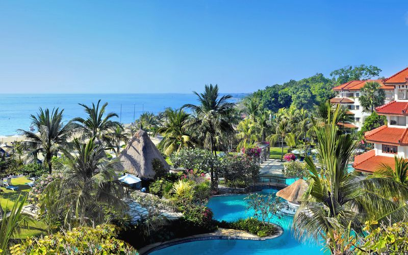 Hotell Grand Mirage Resort i Tanjung Benoa på Bali.