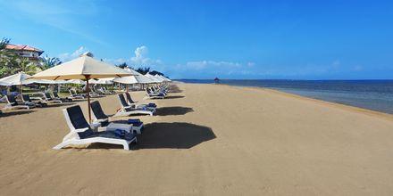 Hotellstranden på Grand Mirage Resort, Tanjung Benoa, Bali.