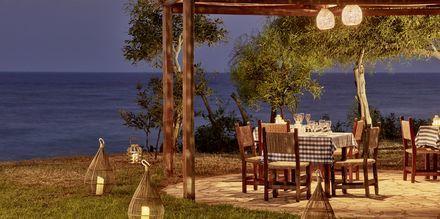 Restaurang Fisherman's hut på hotell Grecian Bay, Cypern.