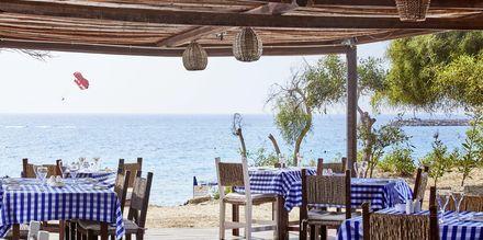 Restaurang Fisherman's hut på på hotell Grecian Bay, Cypern.