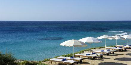 Stranden vid Grecian Sands, Cypern.