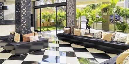 Reception på Green Garden Resort i Playa de las Americas, Teneriffa.