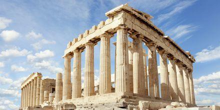 Parthenon på berget Akropolis i Aten.