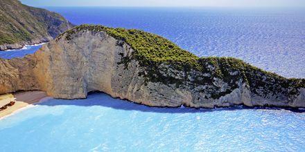 Smugglers Wreck på Zakynthos.
