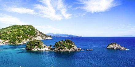 Vackra Parga, Grekland.