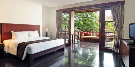 Deluxerum på hotell Griya Santrian i Sanur, Bali.