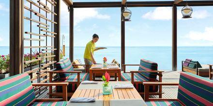 Restaurang på hotell Griya Santrian i Sanur, Bali.
