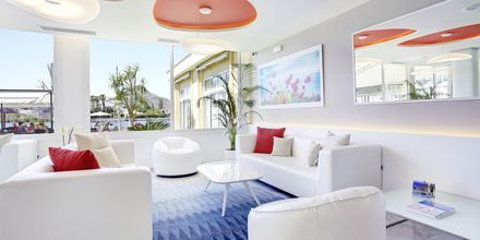 Lobbyn på hotell Grupotel Amapola i Alcudia, Mallorca.