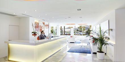 Receptionen på hotell Grupotel Amapola i Alcudia, Mallorca.