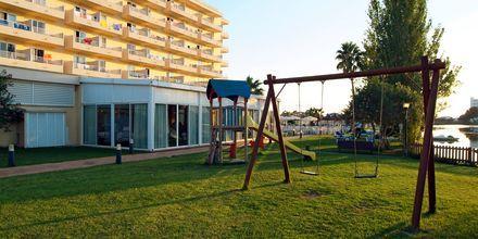 Lekplats på hotell Grupotel Amapola i Alcudia, Mallorca.