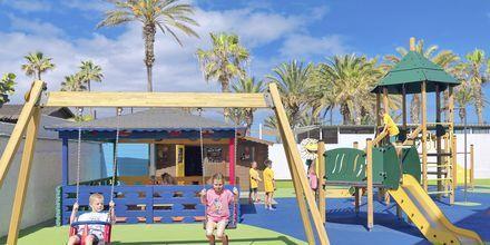Lekplatsen på hotell H10 Conquistador i Playa de las Americas, Teneriffa.