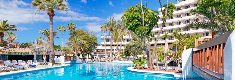 Pool på hotell H10 Conquistador i Playa de las Americas, Teneriffa.
