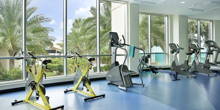 Gym på hotell Habtoor Grand Resort, Autograph Collection i Dubai.