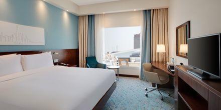 Dubbelrum på Hampton by Hilton Dubai al Barsha i Dubai, Förenade Arabemiraten.