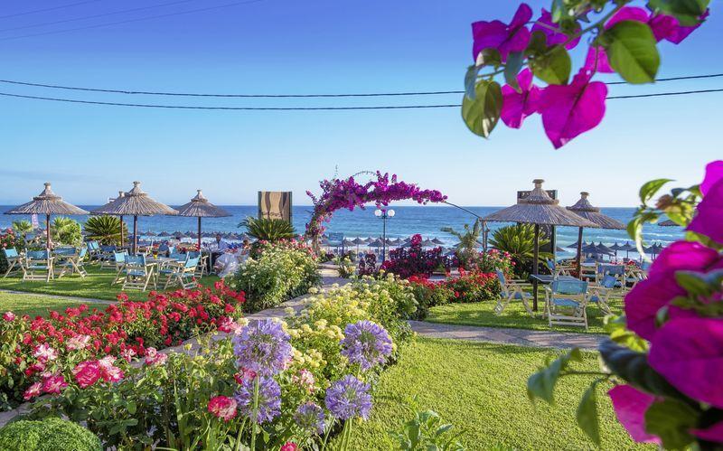 Hotell Haris i Vrachos, Grekland.