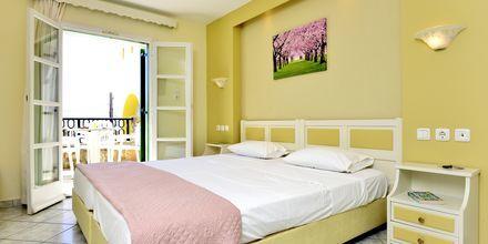 Tvårumslägenhet på hotell Harmony i på Naxos, Grekland.