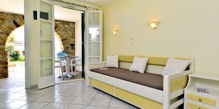 Tvårumslägenhet på hotell Harmony på Naxos, Grekland.