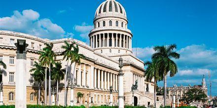 El Capitolio i Havanna på Kuba.