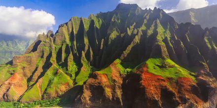 Ön Kauai är ett spännande utflyktsmål på Hawaii.