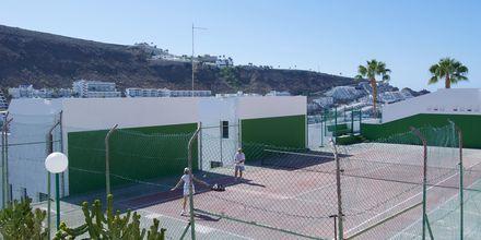 Tennis på Heliomar i Puerto Rico på Gran Canaria.