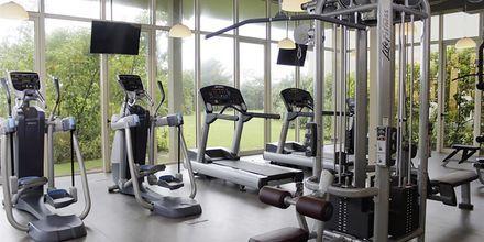 Gym på hotell Heritance Negombo på Sri Lanka.