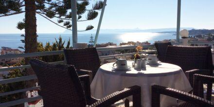 Hotell Hermes i Kato Stalos, Kreta.