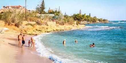 Stranden i Hersonissos.