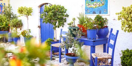 Gamla stan i Hersonissos på Kreta.