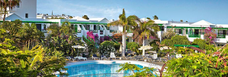 Poolområdet på hotell HG Lomo Blanco i Puerto del Carmen, Lanzarote.