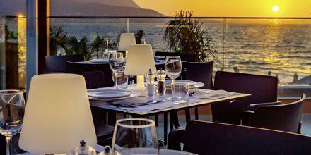 Bufférestaurangen Estia på hotell High Beach i Malia på Kreta, Grekland.
