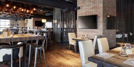 Restaurang Ribs and Brews på Hilton Dubai al Habtoor City i Dubai.