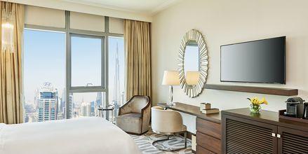 Deluxerum på Hilton Dubai al Habtoor City i Dubai.